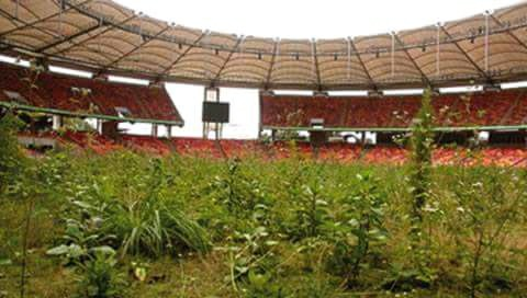 The Current Sorry State Of The National Stadium Abuja