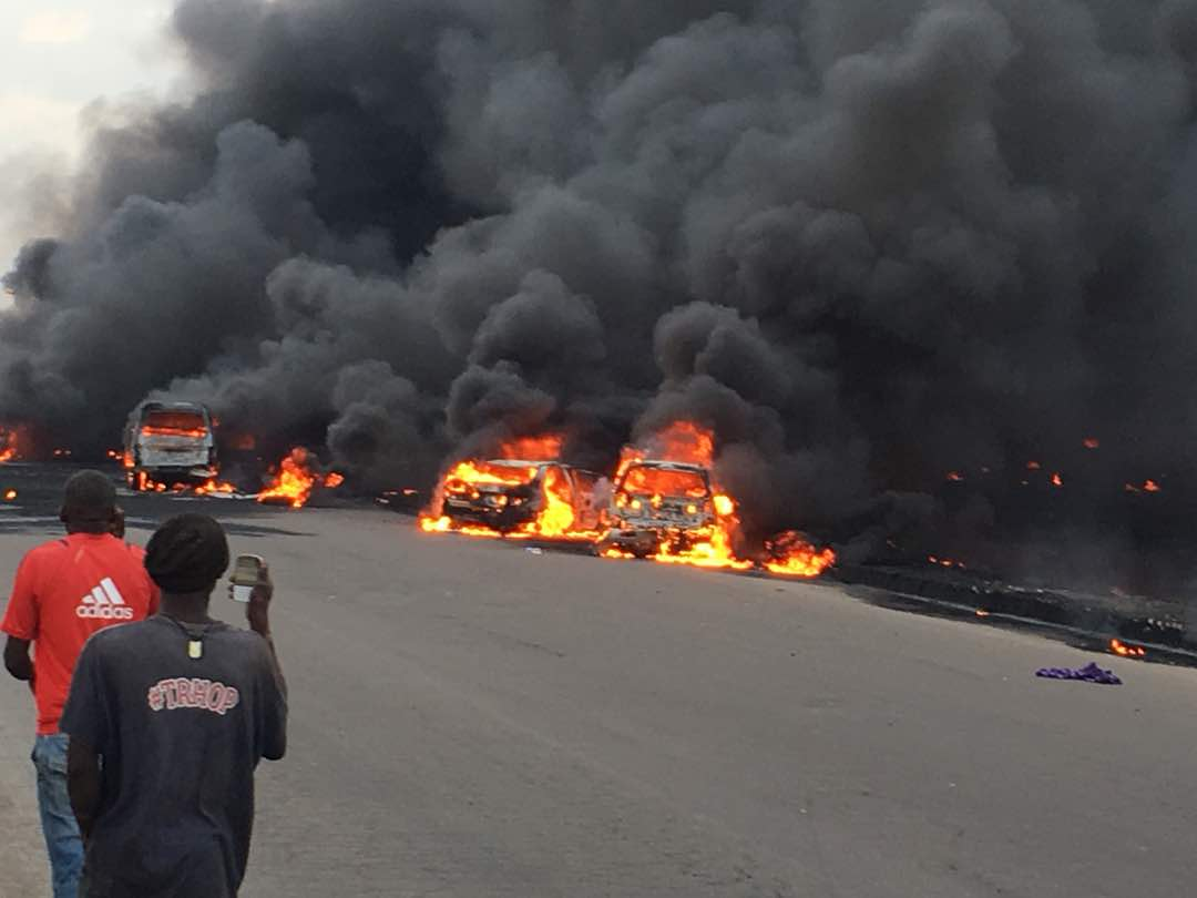 Details On Otedola Bridge Explosion