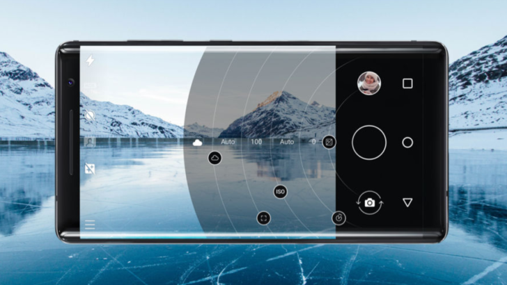 Check out the pro feature of Nokia 8 camera