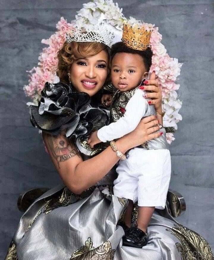 Crazy!: I Would Have Done Plastic Surgery If My Son Hadn't Look like Me- Tonto Dikeh
