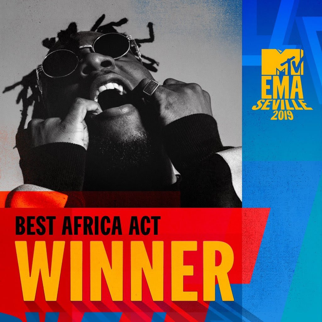 Burnaboy Takes Home Another Big One