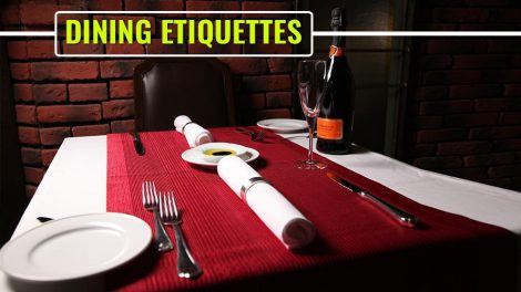Dinning Etiquette's; Simple Setting Rules